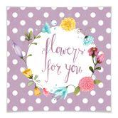 Klebefolie Loske - Flowers for you