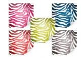 Klebefolie Zebramuster