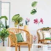 Wandtattoo Kvilis - Tropenpflanzen