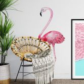 Wandtattoo Kristina Kvilis - Flamingo 01