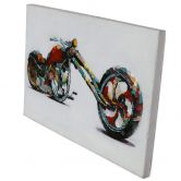 Öl-Wandbild Speed 60cm x 90cm
