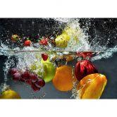 Fototapete Papiertapete Erfrischendes Obst 336x254 cm