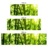Küchenrückwand - Alu-Dibond - Sonnenschein im Bambuswald