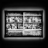 Tableau lumineux LED - Klein - The Classic Bar