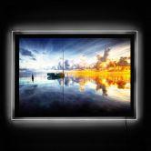 LED-Wandbild - Yugawa - Time for reflection