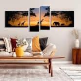 Tramonto africano (4 parti)