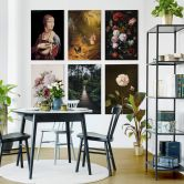 Tableau sur toile - Spitzweg - Le chasseur de papillons