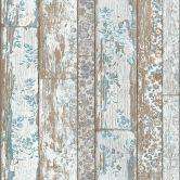 Livingwalls behang romantisch hout beige, grijs
