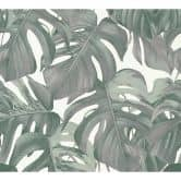 Michalsky Living Vliestapete Dream Again Tapete floral grün, weiß, grau