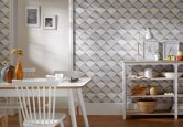 A.S. création pattern wallpaper wallpaper move your wall grey, white