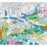 Ausmalposter - Dschungel 70x100 cm