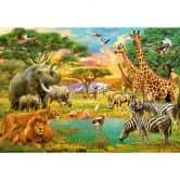 Carta da parati in carta Animali africani