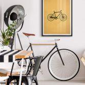 Poster Kubistika - Bicyclette