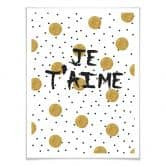 Poster Je t'aime