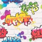 Rasch Kids & Teens III Papiertapete grau