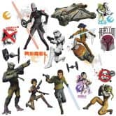 Wandsticker Star Wars - Rebels mit Leuchteffekt