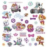 Wandsticker Paw Patrol - Girl Pups