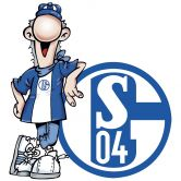 Wandtattoo Schalke 04 Erwin