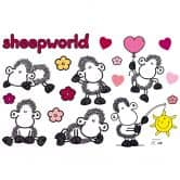Wandtattoo sheepworld Set