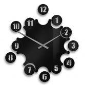 Acrylic Wall Clock Ball Bearing incl. 18 adhesive pads
