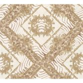 Versace wallpaper Tapete Vasmara beige, braun, metallic