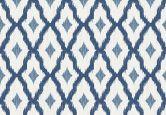 Architects Paper Mustertapete Textiltapete Tessuto 2 Blau, Weiß