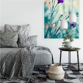 Wallprint Bravin - Luminous purple