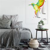 Zelfklevende Poster - Buttafly - Kolibrie