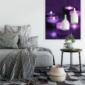 Wallprint W - Candle Berry