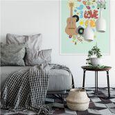Wallprint Loske - I love the 60s