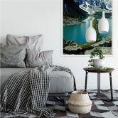Wallprint W - Bergsee Idylle