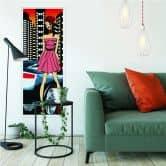Wallprint W - Urban Girl Streetstyle