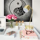 Wallprint Yin und Yang - quadratisch