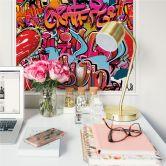 Zelfklevende Poster - Graffiti