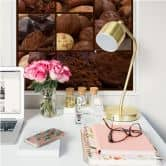 Zelfklevende Poster - Chocolate Dream