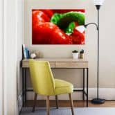 Wallprint Fresh Paprika