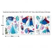 Adesivo murale - Frozen set 53 pezzi