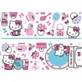 Sticker mural - Set stickers muraux Hello Kitty
