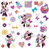 Muursticker set Minnie Mouse