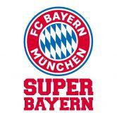 Muursticker Bayern München - Super Bayern