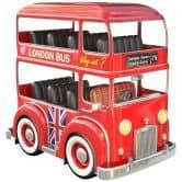 Wandtattoo Agullo - London Bus