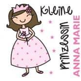 Wandtattoo + Name Kleine Prinzessin