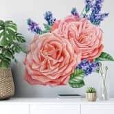 Adesivo murale - Rose XXL