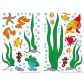 Muursticker Onderwater Wereld