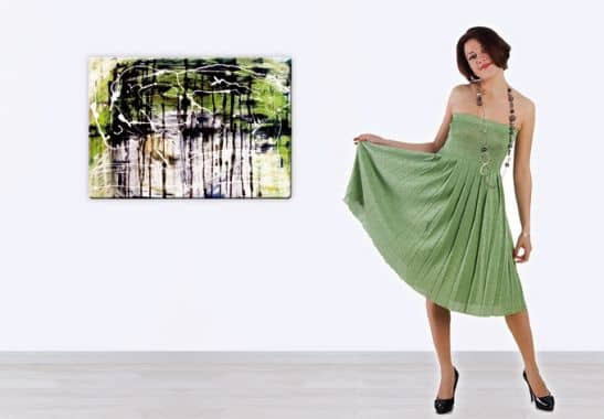 Glasbild modern kunsts auf elegantem glas f r ihr zu for Glasbilder modern art