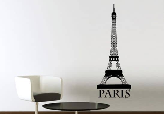 eiffel tower 2 wall sticker wall art com paris eiffel tower wall sticker