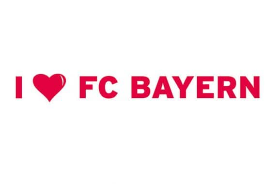 wandtattoo i love fc bayern. Black Bedroom Furniture Sets. Home Design Ideas