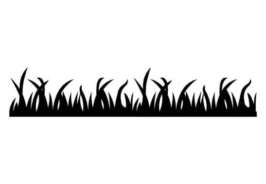 Gordijnen Babykamer Geel : Muurstickers - Muursticker Gras