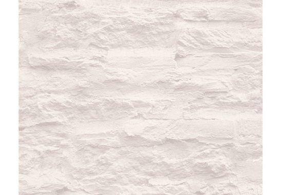Tapeten Holz Und Steinoptik : Mustertapeten – Sch?ner Wohnen steinoptik Tapete Creme, Wei?