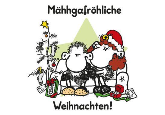 wandtattoo m hhgafr hliche weihnachten von sheepworld